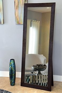 Buy The Rustic French Country Style Floor Mirror, Silver ...