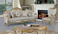 Royal Furniture, Classic Furniture, Furniture Decor, Furniture Design, Steel Furniture, Living Room Sofa, Living Room Furniture, Luxury Bedroom Design, Interior Design