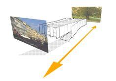 Novosibirsk Summer Pavilion - Adjacency Diagram / Pavilion as Threshold.  Jaime Henderson Jens Kolb
