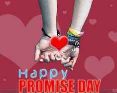 Happy Promise Day Wallpaper-Promise day is the essential days of valentine week for every lover or couple. Promise day is celebrated on 11th of February every year, and it is celebrated to keep up the loving spirit alive for the lifetime by promising your partner or lover on the special occasion of promise day.