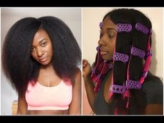CWK SSS Spiral Plates | Natural Hair | ItsMeBFairley - YouTube