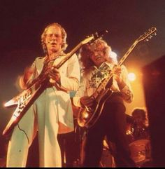 """Andy Powell & Ted Turner - This was the iconic dual guitar team from Wishbone Ash's salad days. Their """"Live Dates"""" double live LP is still a favorite..."""
