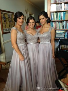 Wholesale Bridesmaid Dresses - Buy 2014 Sexy Cheap Chiffon Wedding Bridesmaid Dresses Long Fashion Embroidery Bead A Line With Sweetheart Sh...