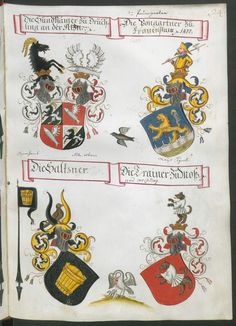 'Wappenbuch des Churbayrischen Adels' Paumgartner zu Frauenstein