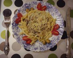 Pasta Gemelli with mushrooms