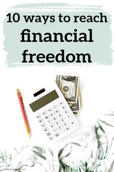 10 ways to reach financial freedom. Here are my 10 favorite blog posts that I've written that will help you reach financial freedom. Financial freedom can allow you to follow your dreams! Freedom Financial, Financial Planning, Money Tips, Money Saving Tips, Managing Your Money, Early Retirement, Starting Your Own Business, Budgeting Tips, Finance Tips