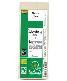 Selimbong Green - Second Flush Green Tea - EqualiTea - Organic Biodynamic and Fairtrade Loose Leaf Tea. Picture: Copyright @ Les Jardins de Gaia. Tous droits reserves. All rights reserved.