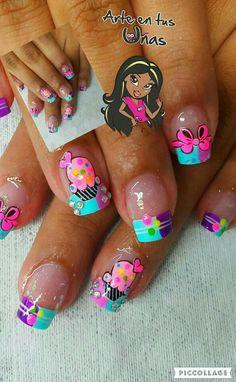 Love Nails, Fun Nails, Tattoo Drawings, Tattoos, Luxury Girl, Nail Arts, Baby Shower Favors, Nail Designs, Pretty Nails