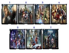 The Avengers Movies Fans Apple iPad 2 3rd 4th Snap On Case Black (1Pcs)