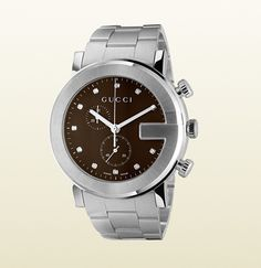 Gucci - g-chrono collection watch with diamonds 316655I16001402