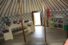 Camping Vecht & Zo | Vechtdal Yurts | Zwolle, Overijssel