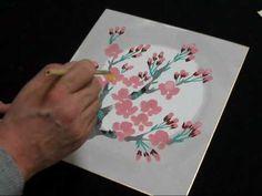 桜 サクラ さくらを描いてみましょう How to draw the cherry blossoms