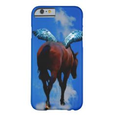 Horses have angels barely there iPhone 6 case