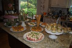 finger foods for bridal shower