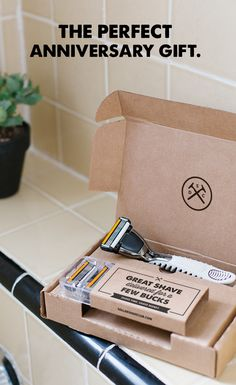 Give him an unforgettable gift. Make him a member in Dollar Shave Club. Amazing razors delivered every month of the year. Gift the Club today.