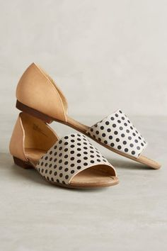 Favorite Flats {this pair of d'orsay flats from Anthropologie}