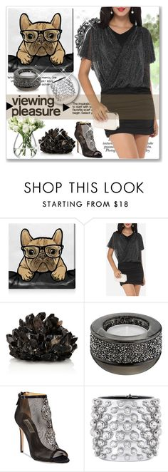 """FYVP"" by jara43 ❤ liked on Polyvore featuring Oliver Gal Artist Co., Nicole, McCoy Design, Swarovski, Badgley Mischka, Tom Ford and LSA International"