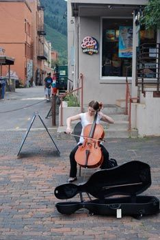 I will perform as a street musician, even if it's just once
