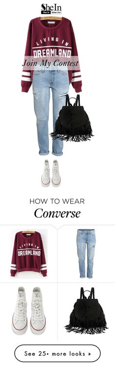 """""""Join My Contest!"""" by sabinakopic on Polyvore featuring H&M and Converse"""
