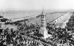 Official Opening of The Clock Tower in Skegness Lincolnshire England in 1899 Lincolnshire England, British Holidays, Short Break, Paris Skyline, Britain, Past, Tower, Clock, History
