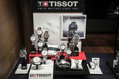 Bortolin Gioielli Udine - le nostre vetrine #tissot #gioielli #orologi. Visita il nostro sito www.bortolingioielli.it