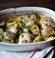 In the Kitchen With a Good Appetite: Melissa Clark's Chicken Thighs with Green…