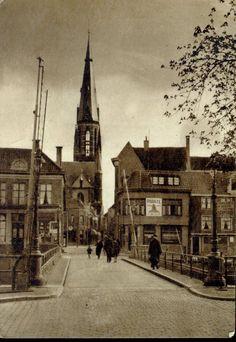 Zwolle, Roggenstraat met St. Miachaelskerk | Mijn Stad Mijn Dorp