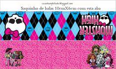 Casinha de Criança: Kit Festa Monster High Para imprimir Grátis