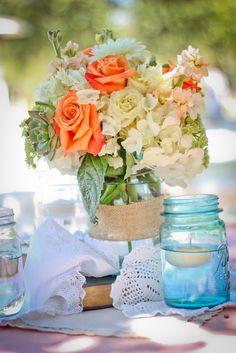 Mandy and Trevor's Romantic Vintage Wedding | San Diego wedding flowers by Splendid Sentiments