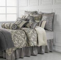 Kerrington Damask Comforter Set