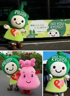 Eco-Friendly: 8 Odd Japanese Environmental Mascots | WebEcoist