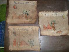 BRICOLAGE: Papyrus Egypte