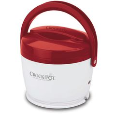 Crock-Pot® Lunch Crock Food Warmer - so cool! Bring the comfort of flavorful meals on-the-go. Ability to warm your favorite leftovers, soup, oatmeal and more right at the convenience of your desk. 20 ounce capacity. Removable food vessel to easily transport food to and from home and for easier cleaning. Easy-Travel lid for portability. Dishwasher safe, removable vessel and lid. Cool to the touch.