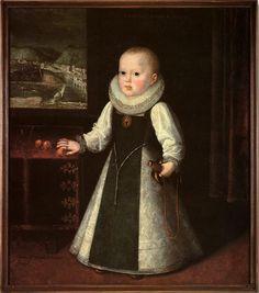 Infanta Doña Ana Mauricia de Austria. Futura reina de Francia y madre de Luis XIV de Francia.