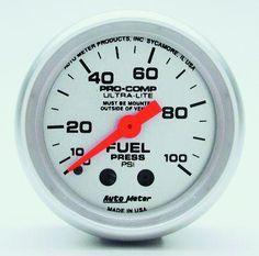sponsored ebay) autometer 1318 arctic white fuel level gauge autometer phantom gauges at night amazon com water temp gauges automotive