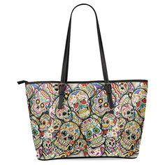 Ewa Classic Sugar Skull Dia De Los Muertos Women's Leather Tote Shoulder Bags Handbags Ewa http://www.amazon.com/dp/B01CCCVTMG/ref=cm_sw_r_pi_dp_Xefbxb0J8SMTA