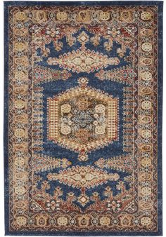 Traditional Persian Rugs Vintage Design Inspired Overdyed Distressed Fancy Dark Blue x St. Carpet Runner, Rug Runner, Blue Brown, Dark Blue, Dark Carpet, 4x6 Rugs, Throw Rugs, Persian Rug, Rugs Online