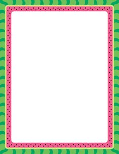 Free watermelon border templates including printable border paper and clip art versions. File formats include GIF, JPG, PDF, and PNG. Printable Border, Printable Labels, Printables, Page Boarders, Boarders And Frames, Watermelon Clipart, Border Templates, Borders Free, Scrapbook Frames