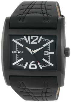 Police Men's PL-12170JSB/02A Dynamo Black IP Black Leather Watch -- See this great product. (This is an Amazon Affiliate link and I receive a commission for the sales)