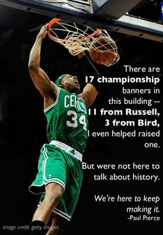 2012 #NBA Playoffs - Paul Pierce, Boston Celtics