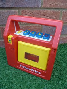 FISHER PRICE Cassette Tape Recorder Player