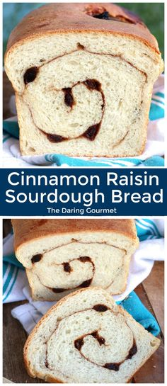 Cinnamon raisin sourdough bread recipe - Bread and baked goods - # Sourdough Cinnamon Raisin Bread Recipe, Sourdough Recipes, Cinnamon Bread, Sourdough Bread, Bread Recipes, Pastry Recipes, Cinnamon Rolls, Yummy Recipes, Recipies