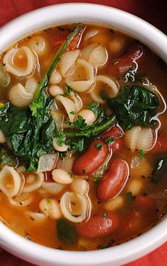 A bowl of soup for breakfast lunch or dinner is a great way to up your vegetable intake providing your body with all the essential nutrients that it needs. Easy to make filling and delicious incorporating a bowl of the stuff into your day-to-day life i Vegetarian Crockpot Recipes, Healthy Soup Recipes, Vegetable Recipes, Cooking Recipes, Veggie Soup, Healthy Food, Soup And Salad, The Fresh, Soups And Stews
