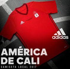 Camisetas de futbol de América de Cali baratas 2017