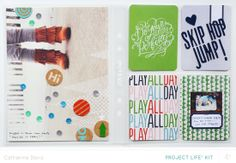 March Project Life   Play by Catherine Davis at @Studio_Calico - Handbook Project Life #SCofficehours