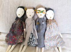 poupées jess brown.  Cute dolly dresses.