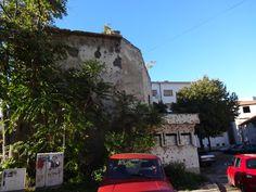 Perfurações Mostar Bósnia resultado da guerra