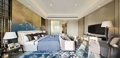 News and Trends from Best Interior Designers Arround the World Interior Design Awards, Gold Interior, Top Interior Designers, Best Interior, Modern Chinese Interior, Modern Master Bedroom, Master Bedrooms, Luxury Home Furniture, Living Room Inspiration