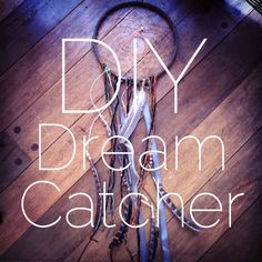 DIY-Dream-Catcher! This would be super cool to do with a little one right after they have  a bad dream!