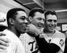 Tony Oliva, Jim Kaat and Bob Allison in locker room during Game Two of the 1965 World Series against the Los Angeles Dodgers October 1965 at Metropolitan Stadium in Minneapolis, Minnesota. Get premium, high resolution news photos at Getty Images Mlb Twins, Minnesota Twins Baseball, 1965 World Series, Metropolitan Stadium, Baseball Photos, Pro Baseball, Football, Sports Gallery, Sports Figures